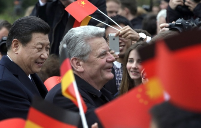 Германия и Китай создают расчетный центр по работе с юанем