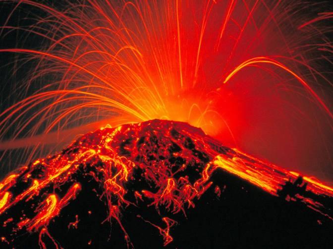 Йеллоустоунский вулкан спровоцировал ряд подземных толчков