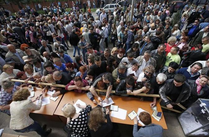 ЦИК ДНР: Референдум о самоопределении проходит при высокой явке. Трансляция #донецк #луганск #референдум