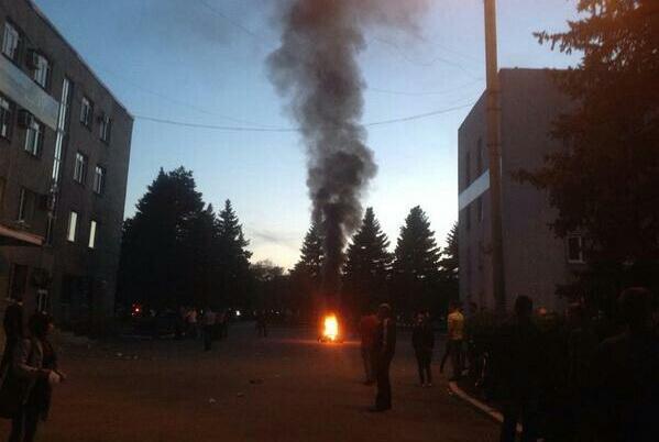 Референдум – подсчет. Каратели напали на Красноармейск. Фото. Видео #референдум #украина #красноармейск