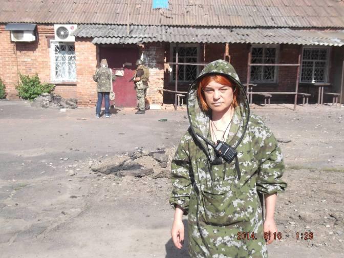 В Славянске погибла журналистка Оксана Шкода #Украина #ДНР #Новороссия #ЛНР #АТО