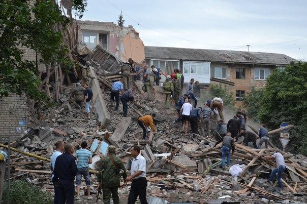 Авиаудар режима Порошенко по жилым домам: десятки жертв, разрушения #Снежное #Украина #ДНР