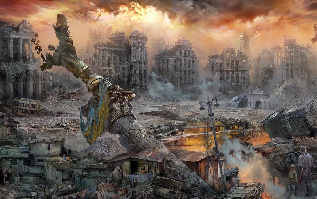 тактика выжженной земли: киев тушит свет на украине функциям