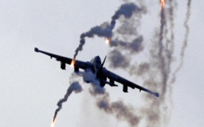 Ополченцы сбили два Су-25 в районе крушения Boeing #Украина #Боинг #Су25