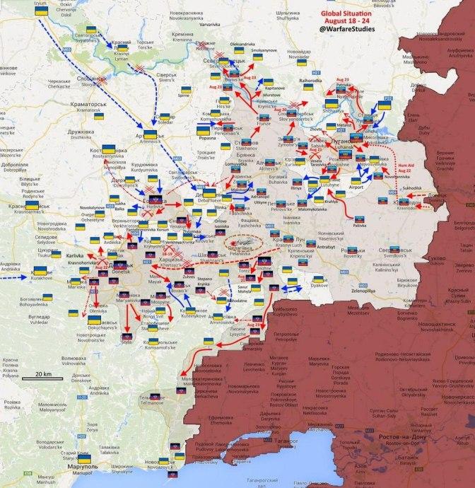Крах южного фронта. Обзор военных действий на Украине. Фото. Видео #Мариуполь #Новороссия #Украина