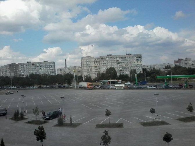 Паника в Мариуполе: пробки на дорогах, нацгвардия и власти бегут. Видео. Фото #Мариуполь #Новороссия #Украина
