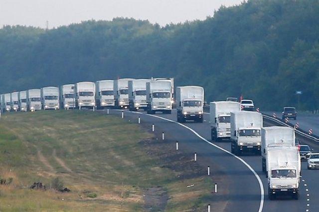 МИД РФ: Россия решила начать движение гуманитарного конвоя в направлении Луганска #Конвой #Новороссия #Украина