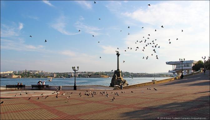 Как изменился Севастополь после воссоединения с Россией. Фоторепортаж #Крым #Россия #Севастополь #Евромайдан