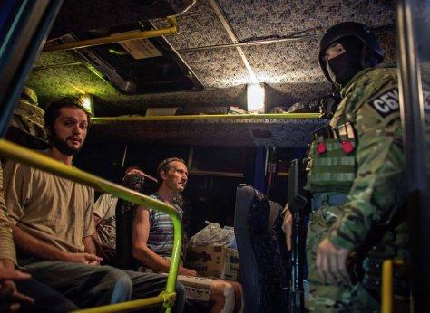 Новороссия. Обмен пленными