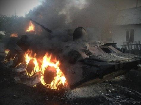 15 сентября. Силами армии Новороссии была пресечена попытка ВСУ де-блокировать остатки карателей окруженных в аэропорту Донецка