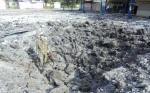 Ханженково, пригород Донецка, каратели хунты нанесли удар баллистической ракетой Точка-У. 12 сентября 2014 г.