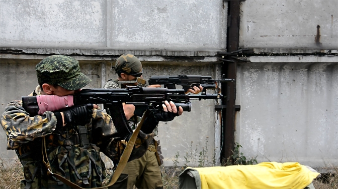 Ополчение Донбасса. Фото mij-gun.livejournal.com