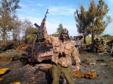 Нациков склоняли к перемирию под Мариуполем. 12.09.2014
