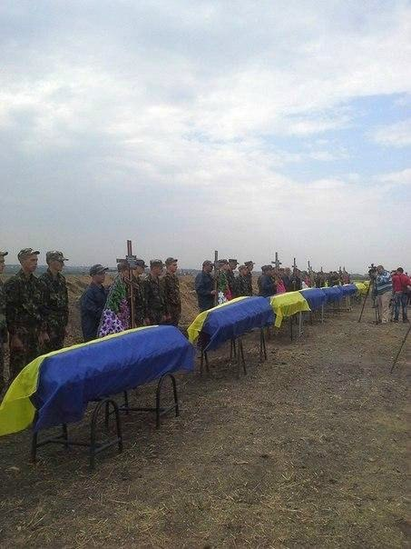 Похороны солдат  ВСУ